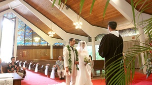 Traditional Hawaiian Church Ceremony
